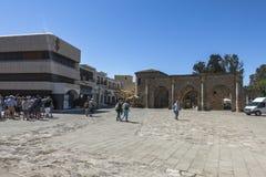 Ciudad vieja de Famagusta Gazimagusa, Chipre Foto de archivo libre de regalías