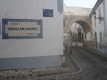 Ciudad vieja de Faro Imagenes de archivo