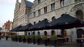Ciudad vieja de Gante foto de archivo libre de regalías