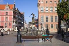 Ciudad vieja de Gdansk Fotos de archivo