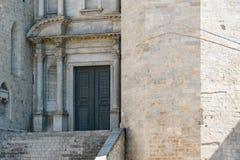 Ciudad vieja de Girona Foto de archivo