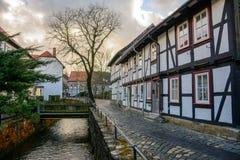 Ciudad vieja de goslar, Alemania Foto de archivo libre de regalías
