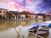 Ciudad vieja de Hoi Foto de archivo libre de regalías