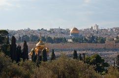 Ciudad vieja de Jerusalén Imagen de archivo libre de regalías