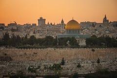 Ciudad vieja de Jerusalén Fotos de archivo