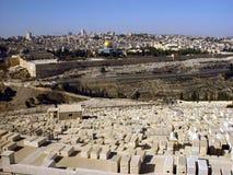 Ciudad vieja de Jerusalén Fotos de archivo libres de regalías