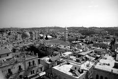 Ciudad vieja de Jerusalén Foto de archivo