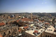 Ciudad vieja de Jerusalén Imágenes de archivo libres de regalías