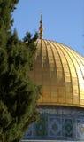 Ciudad vieja de Jerusalén - bóveda de la roca Imagen de archivo libre de regalías