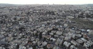 Ciudad vieja de Jerusalén, Israel almacen de metraje de vídeo
