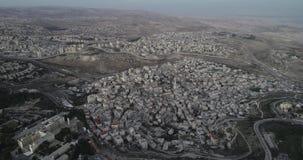 Ciudad vieja de Jerusalén, Israel almacen de video