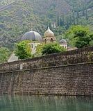Ciudad vieja de Kotor 1 Foto de archivo libre de regalías
