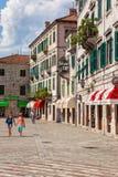 Ciudad vieja de Kotor Imagen de archivo