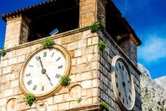 Ciudad vieja de Kotor en Montenegro Imagenes de archivo