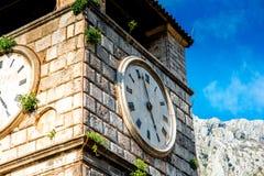 Ciudad vieja de Kotor en Montenegro Fotos de archivo libres de regalías