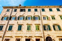 Ciudad vieja de Kotor en Montenegro Fotografía de archivo