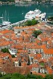 Ciudad vieja de Kotor, Montenegro Imagen de archivo