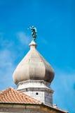 Ciudad vieja de Krk, mediterránea, Croacia, Europa Fotos de archivo