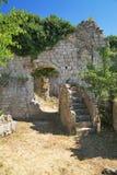 Ciudad vieja de la barra, Montenegro Fotografía de archivo libre de regalías