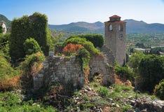 Ciudad vieja de la barra, Montenegro Imagen de archivo