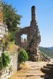Ciudad vieja de la barra, Montenegro Foto de archivo