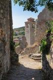 Ciudad vieja de la barra, Montenegro Imágenes de archivo libres de regalías