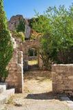 Ciudad vieja de la barra, Montenegro Fotos de archivo