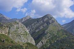 Ciudad vieja de la barra, Montenegro Foto de archivo libre de regalías