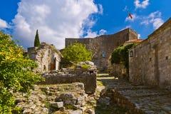 Ciudad vieja de la barra - Montenegro Imagen de archivo libre de regalías
