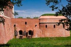 Ciudad vieja de la ciudad de Zamosc Fotografía de archivo