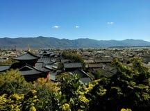 Ciudad vieja de Lijiang Imagenes de archivo