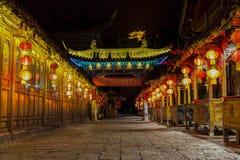 Ciudad vieja de Lijiang, Yunnan, China Fotografía de archivo libre de regalías