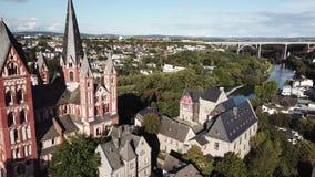 Ciudad vieja de Limburgo, Alemania almacen de video