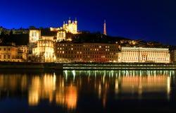 Ciudad vieja de Lyon, Lyon, Francia Imagenes de archivo