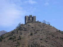 Ciudad vieja de Maglic Imagen de archivo libre de regalías