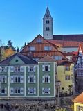 Ciudad vieja de Meersburg Fotos de archivo
