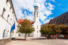 Ciudad vieja de Memmingen, Alemania Imagen de archivo