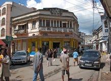 Ciudad vieja de Mombasa Imágenes de archivo libres de regalías