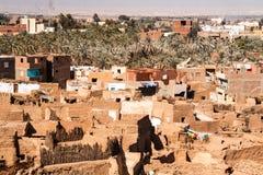 Ciudad vieja de Mut en el dakhla Fotografía de archivo