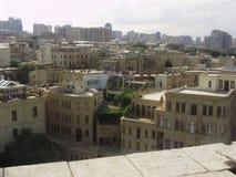 Ciudad vieja de O gran y hermosa de Baku fotografía de archivo libre de regalías