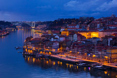 Ciudad vieja de Oporto, Portugal Fotos de archivo libres de regalías