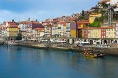 Ciudad vieja de Oporto, Portugal Foto de archivo libre de regalías