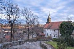 Ciudad vieja de Petrovaradin, Novi Sad, Serbia Imágenes de archivo libres de regalías