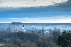 Ciudad vieja de Petrovaradin, Novi Sad, Serbia Imagen de archivo