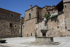 Ciudad vieja de Plasencia Imagen de archivo