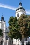 Ciudad vieja de Plock en Polonia Fotos de archivo
