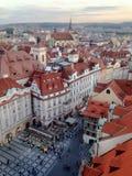 Ciudad vieja de Praga Fotos de archivo libres de regalías