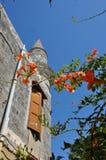 Ciudad vieja de Rhodes City, isla de Rodas, Grecia Imagen de archivo libre de regalías