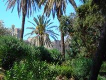 Ciudad vieja de Rhodos Fotografía de archivo libre de regalías