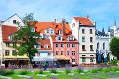 Ciudad vieja de Riga Imagenes de archivo
